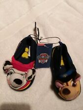 children's slippers Paw Patrol Chase and Marshall size 5/6. Nickelodeon