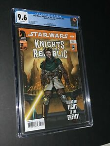 Star Wars Knights of the Old Republic #31 CGC 9.6