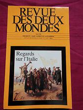 REVUE DES DEUX MONDES - n° 5 - Mai 1999 - Regards sur l'Italie