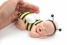 Baby Bumble Bee Yellow Cake Topper for Baby Shower by lil sculpture