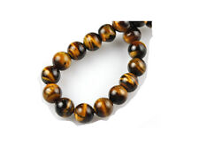 16 Inch Strand Tigers Eye Round Beads 6MM