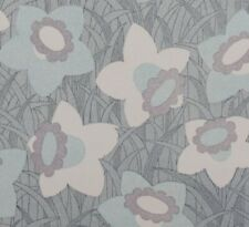 1970S sixties Pasklija Vintage Original Swedish Blommor Wallpaper Retro Flowers