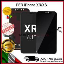 DISPLAY OLED LCD IPHONE X /10 /XR /XS ASSEMBLATO TOUCH SCREEN VETRO SCHERMO