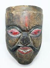 Wooden Tribal Mask Big Size Original Old Antique Hand Carved