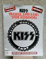 Kiss Alive Worldwide European  1997 Tour Book With Poster! Rare