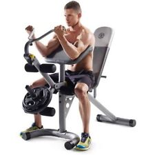 Leg Curl Machine Arm Exercise Bench Free Weight Strength Training