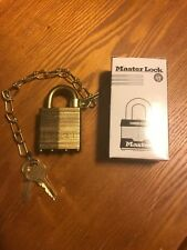 US Master lock Set Army Issue New/old stock