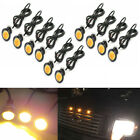 10x Amber Grille Lighting LED Kit Universal Fit Ford SVT Raptor Style Truck SUV