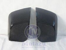 Mutazu 2014 up Speaker Grills fit 5x7 Speaker Lids for Harley Touring Saddlebags