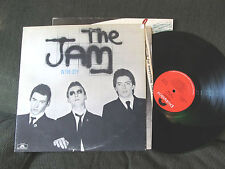 The Jam In The City LP 1977 Orig Polydor Masterdisk mod style council usa w/lyri
