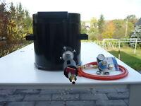 Schmelzofen Gas - 10 Kg  - 1450 Grad