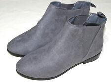 Womens Grey Suede Chelsea Boots. Sizes UK4 / EU 37 x UK8 / EU 42