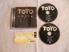 Toto 'Live in Amsterdam '2004 2cd Japan Eagle Records VACM-1235 W/Obi