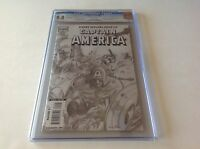 CAPTAIN AMERICA 601 CGC 9.8 WINTER SOLDIER SKETCH COVER VARIANT MARVEL COMICS