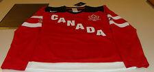 Canada 2015 World Juniors Hockey Jersey IIHF 100th Anniversary Ladies XS