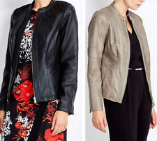 Wallis Faux Leather Biker Jackets for Women