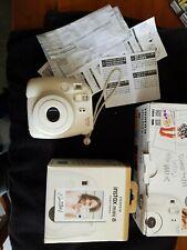 Fujifilm Instax Mini Camera 8 White/Working+ With Box