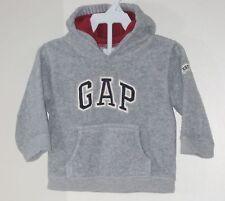 babyGAP Size 12-18 Months Boys Gray Fleece Hoody