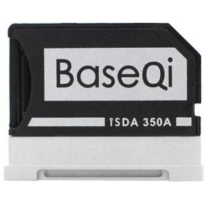 "BaseQi Aluminum MicroSD Adapter for Microsoft Surface Book 1 & 2 & 3  13.5"""