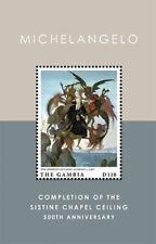 Gambia 2012 - Michelangelo Sistine Chapel 500th Ann. Souvenir Sheet MNH