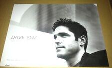 DAVE KOZ 2003 Retail PROMO POSTER For Saxophonic CD 15x20 USA NEVER DISPLAYED