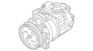 Genuine Audi Compressor 1K0-820-808-AX