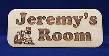 PERSONALISED ENGRAVED CHILDREN KIDS NAME DOOR ROOM SIGN PLAQUE BOARD NURSERY DEC