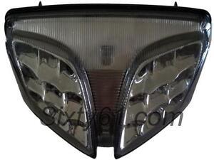 Suzuki GSXR 750 Tail Light LED 2008-2018 2019 2020 Integrated Turn Signal Smoke