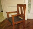 Vintage Rocking Chair Child s Rocker Chair Furniture Craftsman