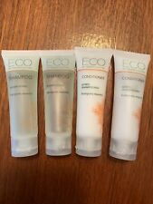 Lot of 4 Eco Green Culture Hotel Amenities Travel Sized Shampoo Condition 1 oz