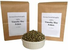 10 lb  TIMOTHY HAY PELLETS Rabbit,Chinchilla,Guinea Pig