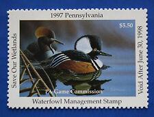 U.S. (PA15) 1997 Pennsylvania State Duck Stamp (MNH)