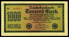 Alemania. Germany. 1000 mark 15.9.1922. ro. 75d. exquisitamente cocinada +.