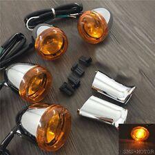 Front Rear Turn Signal Light with bracket For Sportster roadster custom 883 1200