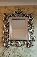 Next  Baroque Ornate & Decorative Champagne Mirror