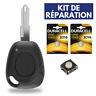 KIT ➜Boitier Clé Plip Coque de Télécommande pour RENAULT Safrane ✚ Pile ✚ Switch