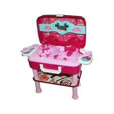 Toys Be Star Beauty Vanity Dressing Table Convertible Suitcase Portable Rol