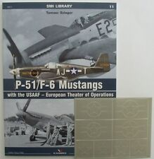 P-51/F-6 Mustangs with the USAAF – European Theater + masking foil ENGLISH