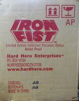 Iron Fist Green Artist Proof Statue #48 Factory Sealed  Hard Hero Marvel Comics