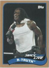 R-Truth 2018 Topps Heritage #60 WWE Bronze Parallel card