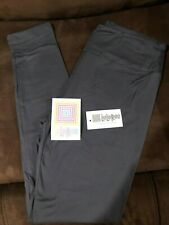 Lularoe Gray leggings OS NEW NWT Solid Gray One Size Fast Shipping !!