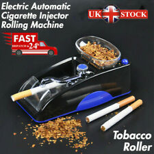 Blue Electric Automatic Cigarette Injector Rolling Machine Tobacco Maker Roller