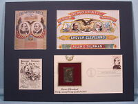 Grover Cleveland - 3 Time Presidential candidate & the First day Cover