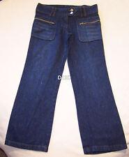 Bratz Girls Blue Embroidered Denim Jeans Size 8 New