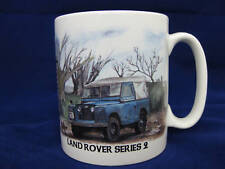 LANDROVER SERIES 2 LAND ROVER LANDY CLASSIC CAR  MUG