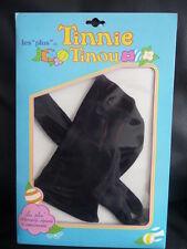 capuche+ echarpe noire pour poupee tinnie tinou  raynal kenner parker ref 810018