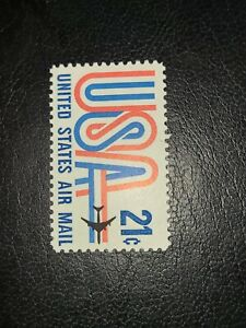 US Scott #C81, Single 1971 Air Mail 21c MNH - # 3050