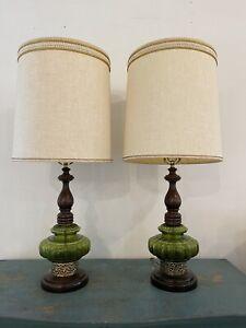 Retro Atomic Vintage Table Lamps mid century modern Eames Era