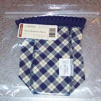 Longaberger Blue Ribbon Plaid BLUE RIBBON PRIDE 2003 Basket Liner ~ Brand New!