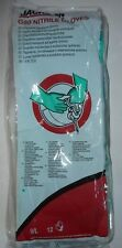 12 Pair Jackson Safety G80 Nitrile Glove 94447 Size 9l New In Sealed Pack